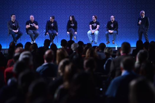 The Final Xerocon Q&A with the company's leaders :-) You may recognise the guy second from the right....